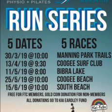 Silas St Physio + Pilates FTC Run Series